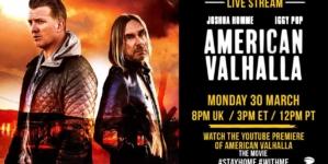 "Igi Pop i Džoš Homi prikazuju onlajn film ""American Valhalla"""