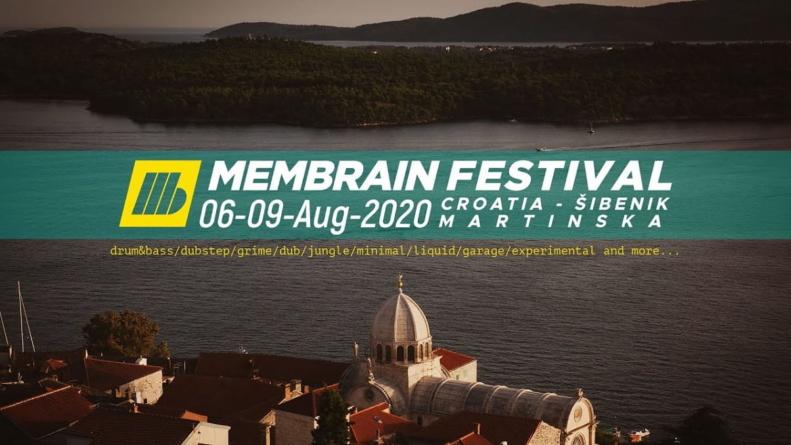 Peto izdanje Membrain festivala u Šibeniku od 6. do 9. kolovoza