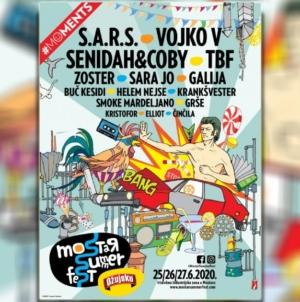 Vojko V, Zoster, TBF, S.A.R.S., Krankšvester, Buč Kesidi i mnogi drugi na Mostar Summer Festu
