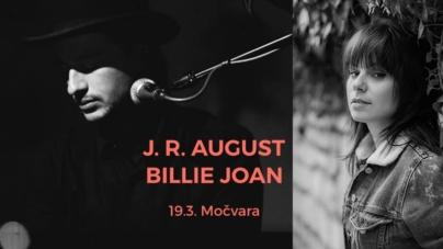 Začarana Močvara FB live Sessions: J.R. August & Billie Joan