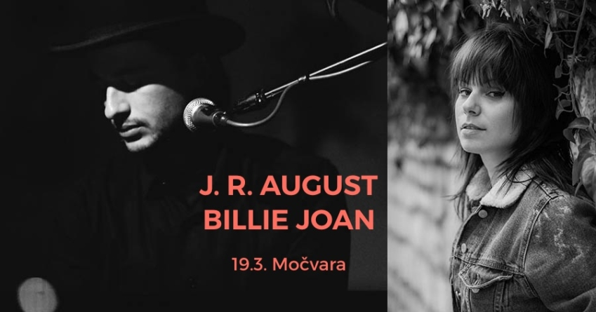 Začarana Močvara FB live Sessions: J.R. August & Billie Joan
