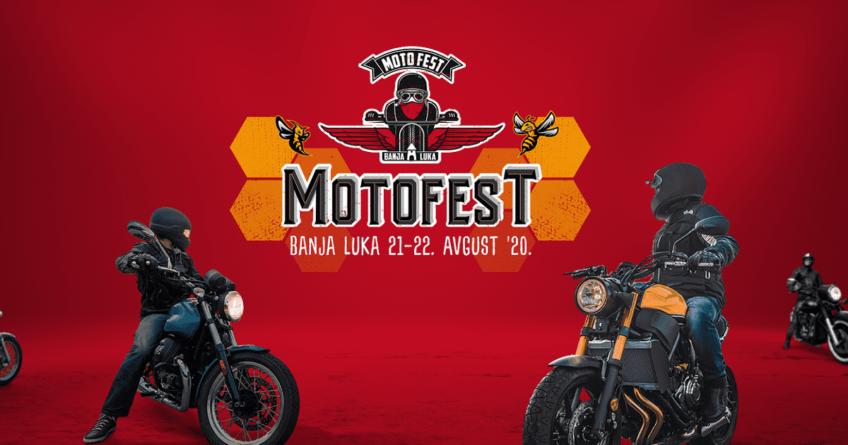 """""""Moto Fest, Banjaluka 2020"""" ove godine 21. i 22. avgusta na banjalučkoj tvrđavi Kastel"""