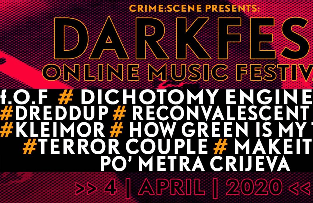 DARK FEST online muzički festival