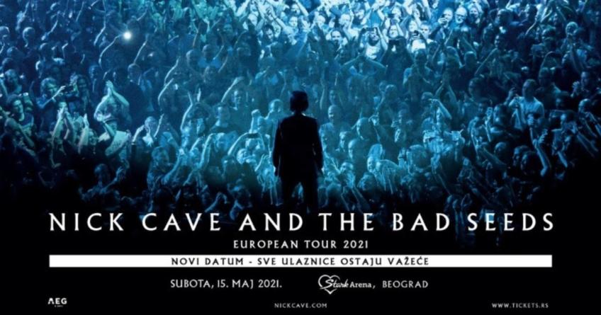 Novi datum za beogradski koncert Nick Cave and The Bad Seeds