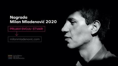 Otvoren konkurs za Nagradu Milan Mladenović