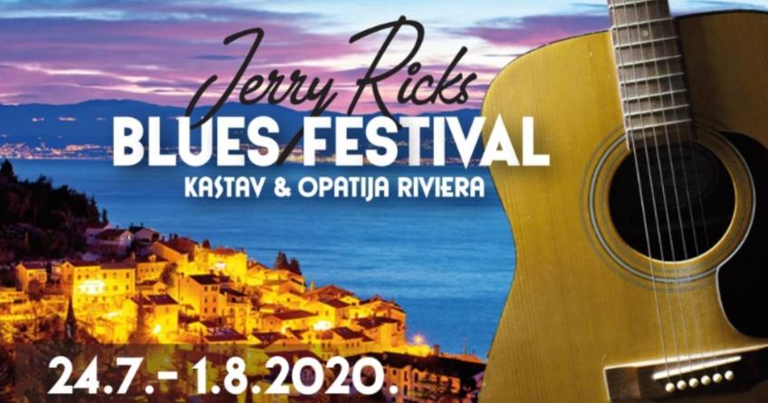 2. Jerry Ricks blues festival od 24. srpnja do 1. kolovoza