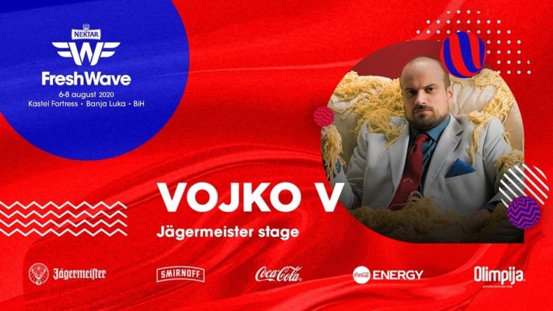 Vojko V na LIVE bini Fresh Wave Festivala