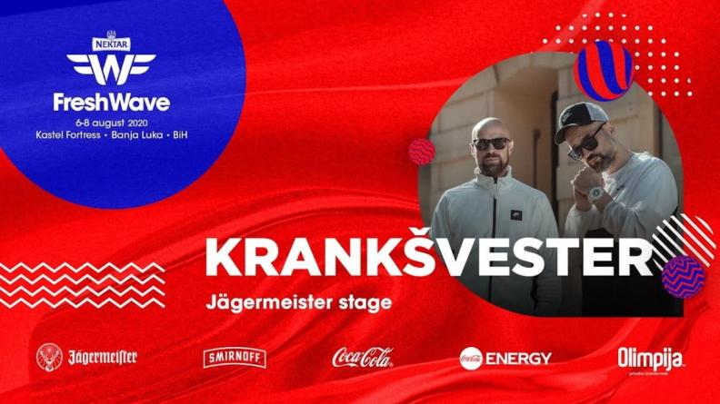 Krankšvester na LIVE bini Fresh Wave Festivala