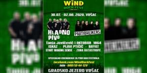 Wind Rock Fest u Vršcu od 30.07. do 02.08.