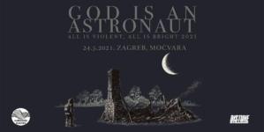 God Is An Astronaut 24.5.2021. u zagrebačkoj Močvari