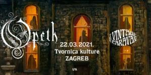 Opeth 22.3.2021. u zagrebačkoj Tvornici kulture
