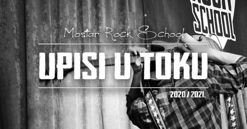 Mostar Rock School: Otvorene prijave za devetu školsku godinu