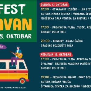 Nektar OK Fest karavan za vikend stiže u Foču