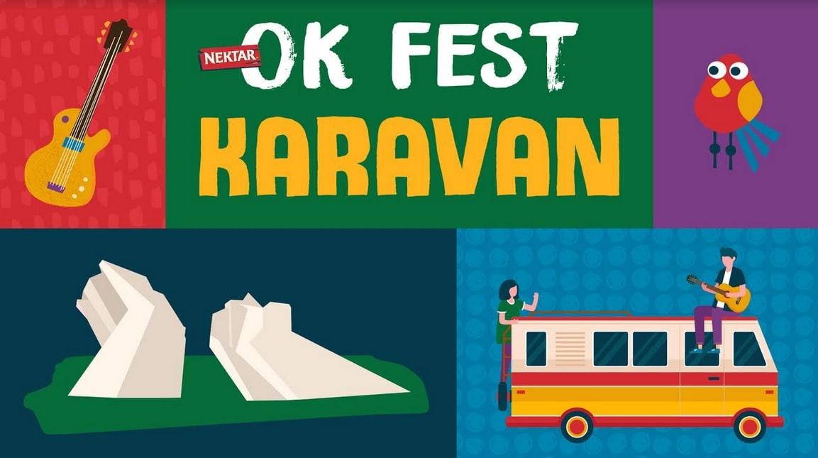 Nektar OK Fest karavan na putu kulture