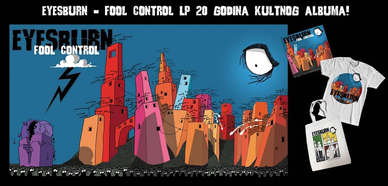 Album 'Fool control' grupe Eyesburn prvi put na vinilu