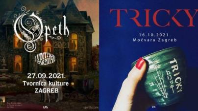 Opeth i Tricky dobili nove datume zagrebačkih koncerata