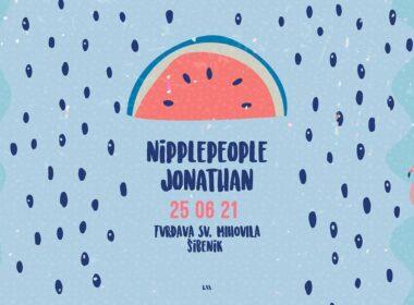 Nipplepeople i Jonathan na šibenskoj tvrđavi sv. Mihovila 25. lipnja