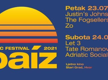Paiz Music Festival 23. i 24. srpnja na Hvaru
