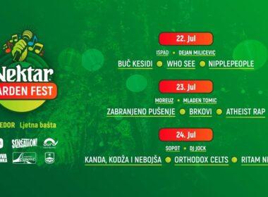 Nektar Garden Fest u Prijedoru